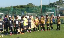 Pre Game Knockout Round v San Roque Spain.JPG