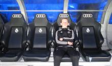 Ryan Stewart on Real Madrid's bench.JPG